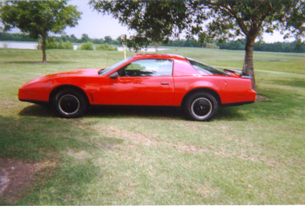 The 1982 Trans Am. The new 3rd generation Firebird downsized from the